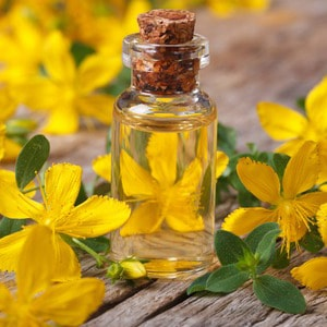 ST. JOHN'S WORT</br> essential oil  or floral water