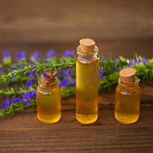 HYSSOP </br> essential oil  or floral water